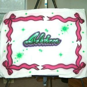 Airbrushed PILLOWCASES Custom Made to Order